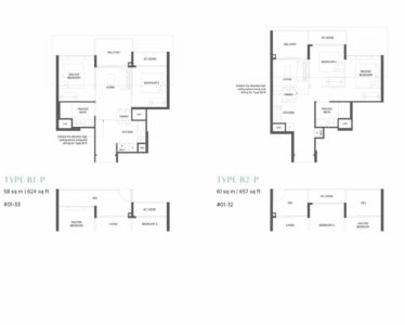 Parc-Esta-Floor-Plan-2-bedroom-type-b1-b2